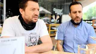 Larry Hodes and Marco da Silva collaborated to establish the Coffefe Roastery at the Gourmet Grocer in Birdhaven, Joburg. | NOKUTHULA MBATHA African News Agency (ANA)