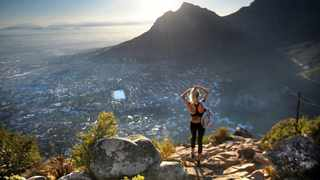 View of Table Mountain from Lion's Head. It is the perfect walk for tourists and residence who want to squeeze in a short hike after or before work. Photographer: Armand Hough/African News Agency