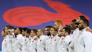 FILE - General view of France players during the tributes in memory of Christophe Dominici before their Autumn Nations Cup match against Italy. Photo: Christian Hartmann/Reuters