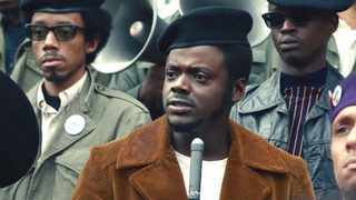 British actor Daniel Kaluuya masterfully slips into the skin of Fred Hampton in Judas and the Black Messiah. Picture: Supplied