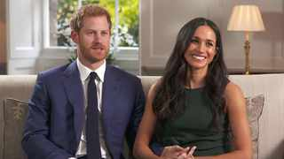 Prince Harry and his wife, Meghan Markle