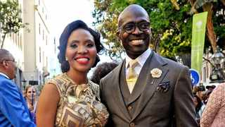 In happier times, former minister Malusi Gigaba and wife Norma Mngoma. Picture: Facebook