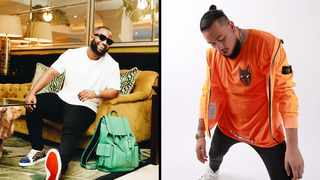 Cassper Nyovest and AKA. Picture: Instagram