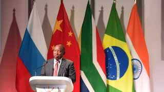 President Cyril Ramaphosa will lead the South African delegation during his participation in the BRICS virtual summit. Picture: Itumeleng English/African News Agency (ANA)