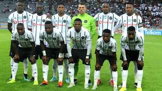 Orlando Pirates team during the Telkom Knockout Round of 16 fixture against Stellenbosch FC at Orlando Stadium in Soweto. Photo: Itumeleng English/African News Agency (ANA)