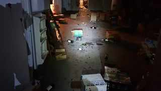 Restaurant manager Melissa Mann said their warehouse in Plettenberg Bay's industrial area was looted last night. Photo: Facebook / SABC