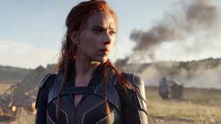 """This image released by Disney/Marvel Studios' shows Scarlett Johansson in a scene from """"Black Widow"""". Picture: Marvel Studios/Disney via AP"""