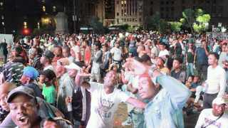 The traditional City of Tshwane New Year's party at Church Square. This year the streets were quiet with no public parties. Picture: Jacques Naude African News Agency (ANA)