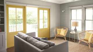 Grey-haters complain that the colour is ubiquitous, and, to some degree, they're right, say the writer. Picture: Benjamin Moore