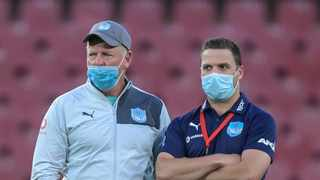 Run at us if you dare, Sharks. That was the challenge laid down by Blue Bulls coach Jake White to the Durban side ahead of Saturday's Currie Cup final at Loftus Versfeld in Pretoria. Photo: Christiaan Kotze/AFP