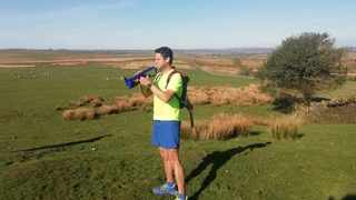 Thomas Witten will be attempting to run 1,400km for charity to raise funds for underprivileged children in South Africa. Picture: Thomas Witten