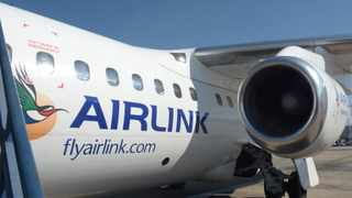 Airlink will continue to serve southern Africa's main commercial centres with a flight schedule and air route network despite SA shutting land borders. Picture: Sandison/African News Agency (ANA)