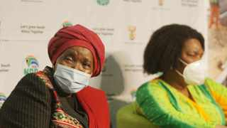 CO-OPERATIVE Governance and Traditional Affairs Minister Nkosazana Dlamini Zuma at an event in Durban earlier this month. An application has been brought in the Pretoria High Court to challenge the minister's decision to extend the national lockdown until December 15.Picture: Bongani Mbatha /African News Agency (ANA)