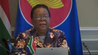 Representing South Africa, International Relations and Co-operation Minister Naledi Pandor was joined by heads of mission of the Association of South-East Asian Nations' Pretoria committee at a virtual signing ceremony of the Treaty of Amity and Co-operation at the Taj Hotel on Tuesday.