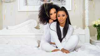 Pearl Thusi and DJ Zinhle. Picture: Instagram