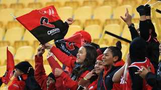 The Crusaders bounced back from their first loss of the competition and put one hand on the Super Rugby Aotearoa trophy with a 32-19 victory over the Chiefs in Hamilton. Photo: Marty Melville/Photosport.co.nz