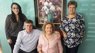 Lawyer Renaldi Ingram, couple Cobus and Sanet Potgieter, who lost their triplets a decade ago, and Sonja Smith of Sonja Smith Funerals and founder of the Voice of the Unborn Baby organisation.
