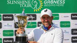 Darren Fichardt won the inaugural Betway Championship at Killarney Country Club on Friday. Photo: Sunshine Tour/Carl Fourie