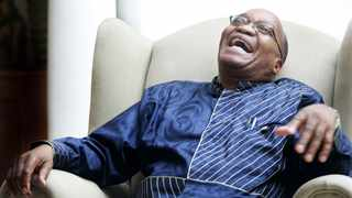 Former deputy president Jacob Zuma, days after his acquittal on a charge of rape in Forest Town, Johannesburg. Picture: TJ Lemon