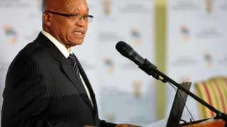 """President Jacob Zuma speaks at the release of South Africa's 20 year review document at the Sefako Makgatho Presidential Guesthouse in Pretoria, Tuesday, 11 March 2014. Zuma said the review was government's """"factual and frank"""" account of how South Africa had fared since 1994. """"The review is packed with facts and figures, it is honest and frank in its approach. Where facts indicate that we have challenges and we have made mistakes we say so,"""" said Zuma. """"It is government's most accurate account of work done in the past 20 years... it is about progress made and work that still needs to be done to move South Africa forward."""" Picture: GCIS/SAPA"""