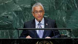 Mauritius has re-elected Prime Minister Pravind Kumar Jugnauth for a second five-year term, the electoral commission said Friday. Picture: Reuters