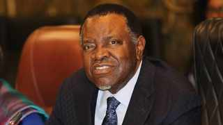 Namibian President Hage Geingob has extended the lockdown to 4 May. Picture: Facebook - Dr Hage Geingob