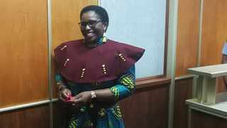 Bulelwa Ndudula, a widow of a slain Eastern Cape Social Development chief of staff Sakhekile Ndudula, was acquitted by the East London High Court from all the charges related to the murder of her husband. Picture: ANA Reporter
