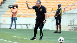 Gavin Hunt, coach of Kaizer Chiefs has prepared his side to take on Wydad in Morocco this weekend. Picture: Muzi Ntombela/BackpagePix