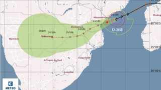 On Thursday afternoon, Météo-France said Eloise maintained a west-south-west track towards Mozambique, but its intensification had lagged behind their previous forecast which suggested that Eloise was showing signs of rapid re-intensification.