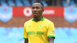 Mamelodi Sundowns coach Manqoba Mngqithi has backed midfielder Lebohang Maboe to succeed in his new role, saying he brings an immense contribution to the team, while he is on course to be a Bafana Bafana regular in the near future. Photo: Sydney Mahlangu/BackpagePix