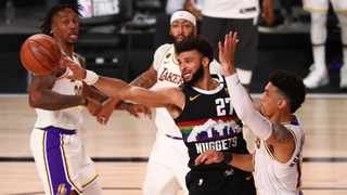 Denver Nuggets guard Jamal Murray had a big night in Game 3 against the Lakers. Picture: Kim Klement/USA TODAY Sports via Reuters