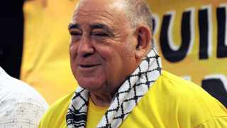 Former South African Minister of Inteligence Ronnie Kasrils who is one of the interim leaders, during Preparatory Assembly of the United Front held at O.R. Tambo Southern Sun Hotel near Kempton Park in Ekurhuleni. 141214 Picture: Boxer Ngwenya