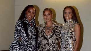 Kelly Rowland, Beyoncé and Michelle Williams. Picture: Instagram