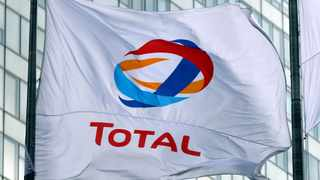 FILE PHOTO: The logo of French oil giant Total is seen at La Defense business and financial district in Courbevoie