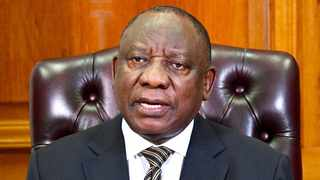 President Cyril Ramaphosa addressing the nation last night (September 16, 2020) about the reduction of the national state of emergency to level 1.
