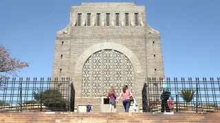 "Members of the public can now ""own"" a part of the Voortrekker Monument, which reopened yesterday for the first time since the country went into lockdown in March. Picture: Jacques Naude African News Agency (ANA)"