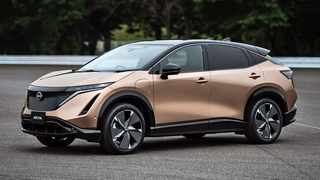 Nissan Ariya can reportedly cover 610km on a single charge.