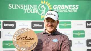 George Coetzee added yet another title to the many he has won at Pretoria Country Club over the years, claiming the Sunshine Tour's Titleist Championship by four shots. Picture: Supplied