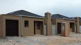 Cape Town-29-03-2016 Houses in Ilitha Park are having a high price like most of the Northen Surbubs,most people opt to rend or be backyarders.These are just some of the new ones being built by Infocus Housing Properties there.pic Phando Jikelo