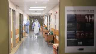 Tygerberg Hospital's special coronavirus isolation unit has four en-suite rooms. Picture: Courtney Africa African News Agency (ANA)