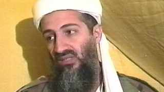 Osama bin Laden speaks during an interview at an undisclosed location in Afghanistan in 1998.