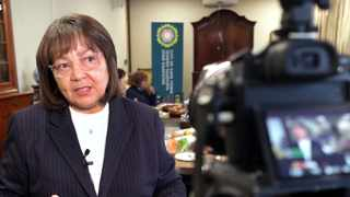 Public Works and Infrastructure Minister Patricia de Lille. Picture: Ian Landsberg/African News Agency (ANA)