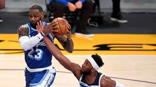 In a first-round rematch of last season's Western Conference playoffs, the Portland Trail Blazers visit the defending champion Los Angeles Lakers on Monday night. Photo: Reuters