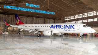 Airlink has a new look- which features a distinctively colourful African Sunbird set against a sunrise and dawn sky. Picture; Supplied.