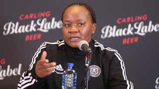 "The Carling Cup has shown that Orlando Pirates fans are knowledgeable - they know the team and they understand the culture of the club."""" - said Thandi Merafe of Orlando Pirates"