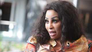 Local actress Khanyi Mbau has had a busy weekend on Twitter. Picture: Nhlanhla Phillips/African News Agency (ANA)