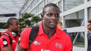 Andrew Amonde will captain the Kenya 7s side at the Rugby Sevens Olympic Qualifier in Johannesburg. Photo: @andrewopede on twitter