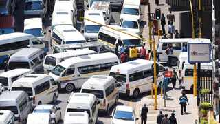 Police have called on taxi owners to obey the law ahead of another proposed strike on July 12.Picture: Dumisani Sibeko/ANA Pictures