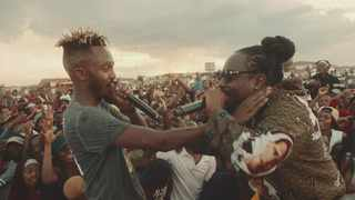 Kwesta and Wale in the 'Spirit' music video. Picture: Youtube