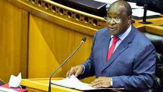 2021 Budget speech presented by Finance Minister Tito Mboweni in Cape Town Western Cape. Photo GCIS